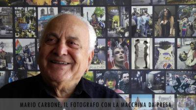 Mario Carbone, foto di Giuseppe D'Addino